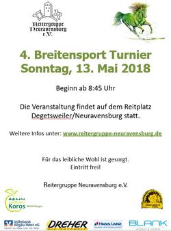 4. Breitensportturnier 2018