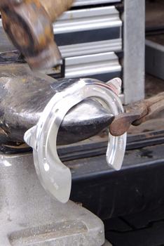 Aluminiumhufeisen