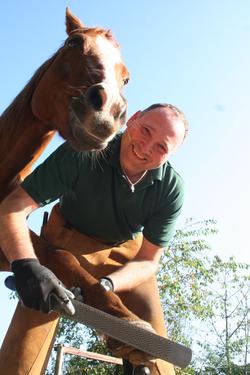 Jörg mit Reyno